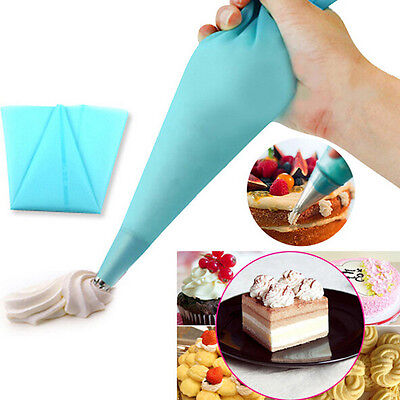 3 Size Silicone Pastry Bag Reusable Piping Bag for Baking Cookie Cake Decoration