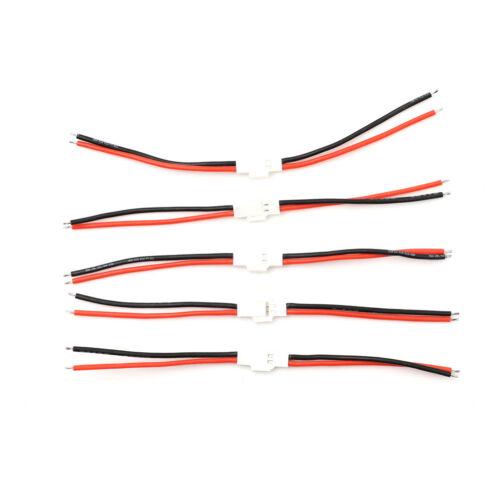 5 Paire Fiche Banane EC5 Connecteur Femelle Adaptateur Mâle pour RC ESC LIPO BA X3K1