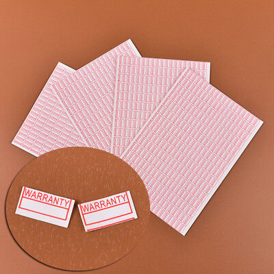 1000pcs Warranty Damaged Protection Security Label Sticker Seal Fragile Label YT