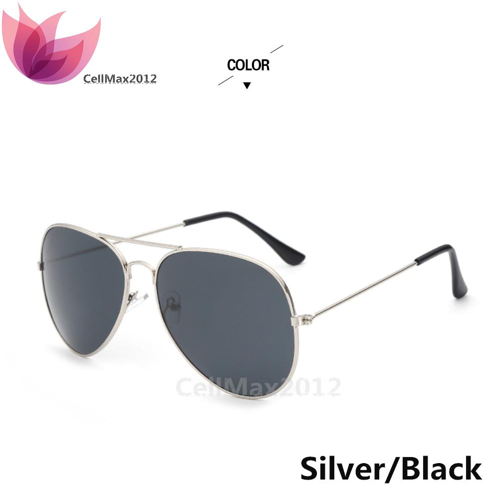 Silver / Black Lens