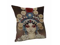 Cotton Linen Home Decor Throw Pillow Case Cushion Cover
