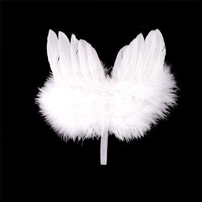 Infant Neugeborene Junge Mädchen Fee Feder Reinen Weißen - Junge Fee Flügel
