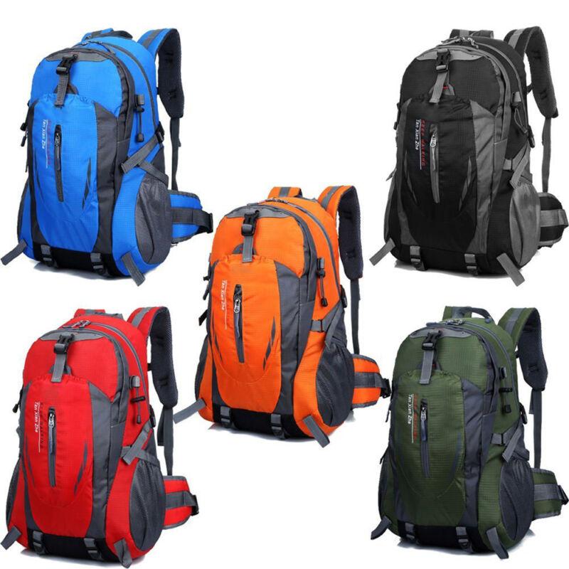 d4c5e89a5a Details about 50L Waterproof Backpack Shoulder Hiking Bag Pack Outdoor  Camping Travel Rucksack