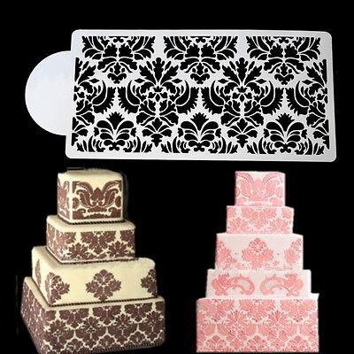 Princess Lace Cake Stencil Set Cake Craft Stencils Cake Border Decor Bordervb