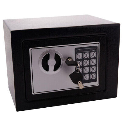 Digital Safe Box Electronic Lock Fireproof Security Home Office Money Cash Gun