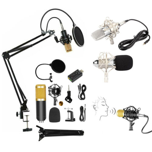 Professional Studio Condenser Microphone Kit Recording Broad