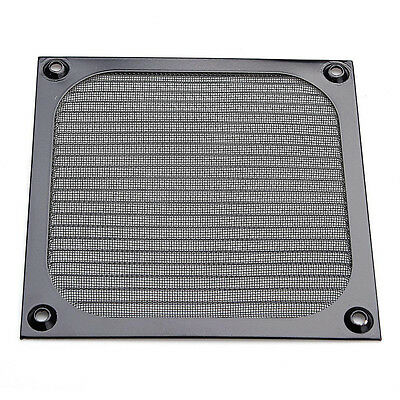 120mm Computer Fan Cooling Dustproof Dust Filter Case fr Aluminum Grill Guard GH