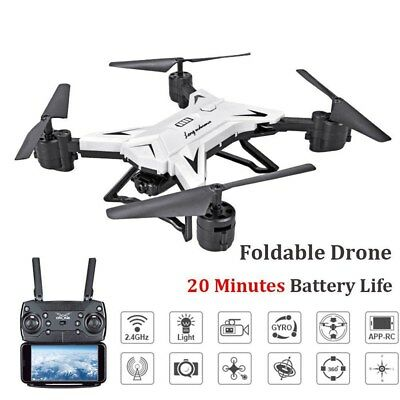 Mini KY601S Foldable With Wifi Camera 5MP 2.4G 6-Axis RC Quadcopter Drone Toys
