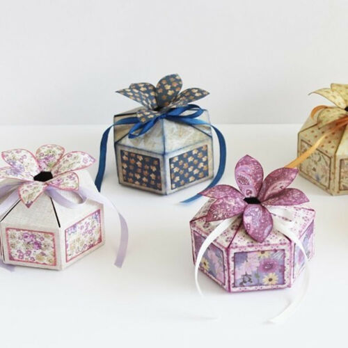 tag Dotted box Cutting Dies Scrapbooking Embossing Card Making Paper Craft DieS/&
