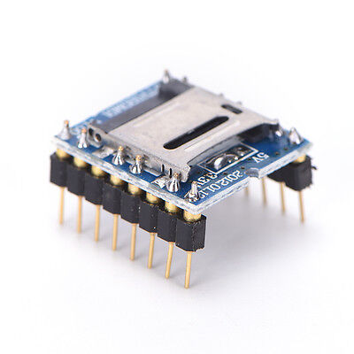 U-disk Audio Player Tf Sd Card Voice Module Mp3 Sound Wtv020-sd-16p Arduino Gk