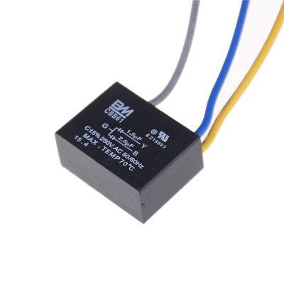 CBB61 AC 450V 1.5uF 2-Draht-Anschluss Deckenventilator