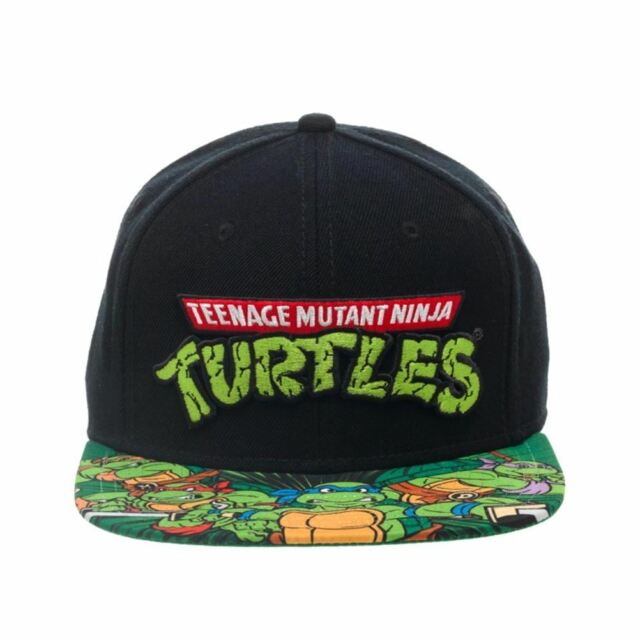 Officially Licensed Teenage Mutant Ninja Turtles Sublimated Bill Snapback Cap