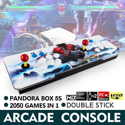 Pandora Box Retro Video Games 2050 in 1 Double Stick Arcade Console Light New
