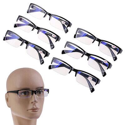 Halber Rahmen Lesebrillen Lesebrille Brille Lesehilfe Sehhilfe +0,25 bis +4,0 CL