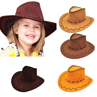 Halloween Style Western Cowgirl Cowboy Hat For Kid Boys Gilrs Party Costumes - Halloween Cowboy Hat