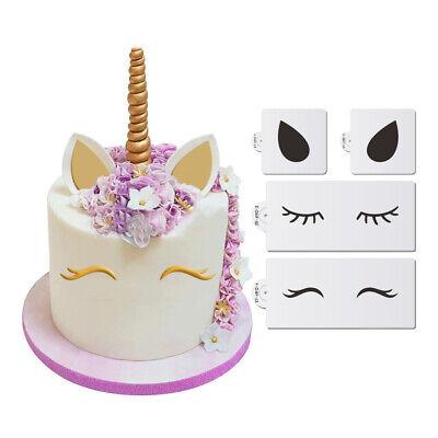 Eyes Ears Cake Side Stencil Set theme Party Wedding Template Cake Decor _NEWJKU