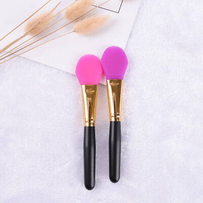 (Super Soft Silicone Facial Face Mask Mud Mixing Makeup Brush Applicator TB)