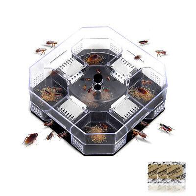 Insect Bug Trap Catcher Cockroach Anti Bed Bug Flea Pest Control Tool KillerDE