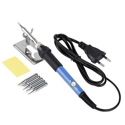 Adjust Temperature Soldering Iron Welding Gun Welder Repair Tool 220v60w Eu Plug