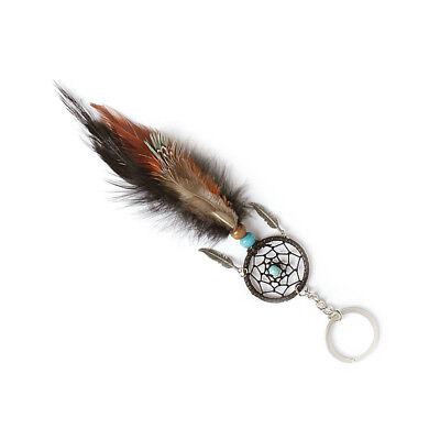 Traumfänger-schlüsselanhänger (Feder Dreamcatcher Traumfänger Schlüsselanhänger Dream Catcher Geschenk)