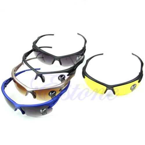New Hot Sports UV Protective Goggles Motocycle Cycling Riding Running Sunglasses
