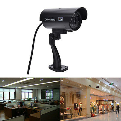 FFuality Dummy Fake Outdoor Indoor Security Camera Night Blinking LED BFFCK FF