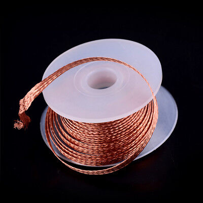 1pc 3.5mm 1.5m Desoldering Braid Solder Remover Removal Wick Wire Repair Toolz0p