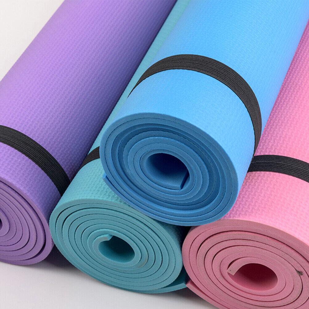 Yogamatte Fitnessmatte Gymnastikmatte Sportmatte Pilates Yoga Matte Rutschfeste