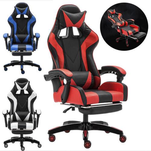 CLIENSY Gaming Chair Racing Recliner Bucket Seat Computer De