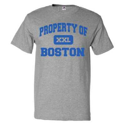 Property Of Boston T Shirt Funny Tee