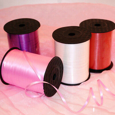 250YD CURLING (Balloon) RIBBON 14 Colors for Wedding/Birthday/Home Party H&P