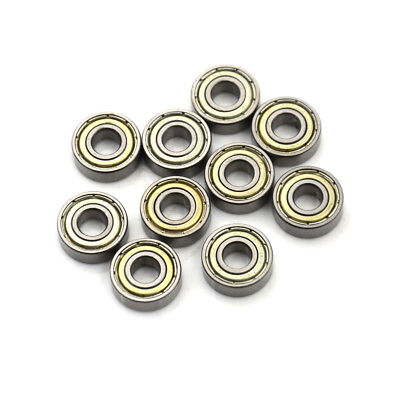 10pcs 696zz Deep Groove Miniature Ball Bearing 6x15x5mm Metal Mini Bearing Qy