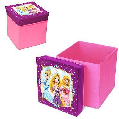 Disney Princess Box Prinzessin Spielzeugkiste Sitzhocker Aufbewahrungsfunktion