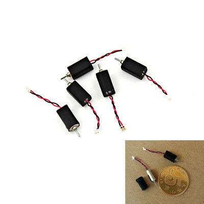 5pcs 4x8mm Dc 3.7v 66000rpm Ultrahigh High Speed Micro Mini Coreless Motor Fm