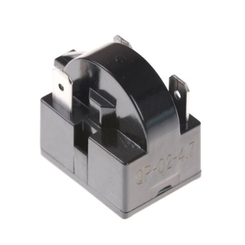 Universal 1 Pin Refrigerator PTC Starter Relay Insert Black WL