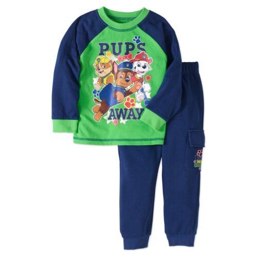 Nickelodeon Paw Patrol Long Sleeve Shirt Pants Outfit Set Boy Size 5T