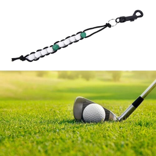 1PC New Golf Beads green Stroke Shot Score Counter Keeper with Clip WGB`K0