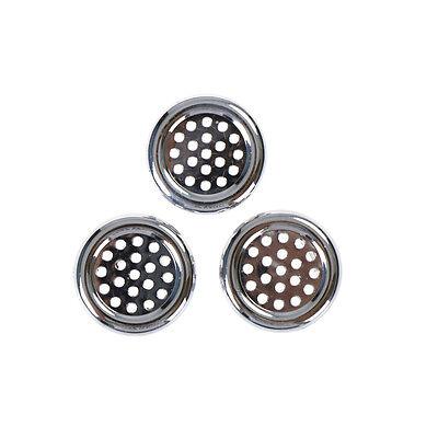 3PCS Round Ring Overflow Cover Plug Sink Filter Bathroom Basin Sink Drain FZ