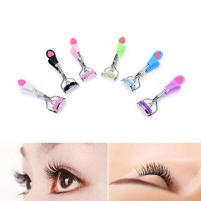 CLo Handle Eye Curling Eyelash Curler Clip Beauty Makeup Eyelash Tool With ComTY