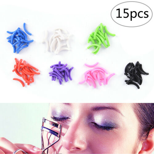 15Pcs Refill Rubber Pads Make Up Tool Replacement Eyelash Curler Circle TCJKVV - $5.17