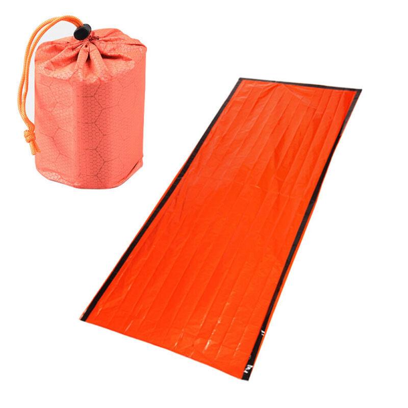 1set Emergency Sleeping Bag Emergency First Aid Sleeping Bag PE Film TenYJAW