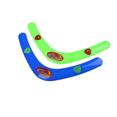 "Child Funny V Shaped Boomerang Returning ""Throwback"" Whistler Boomerang ToyG1 Rn"