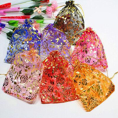 1813cm 10x Jewelry Pouch Gift Bags Wedding Favors Organza Pouches Decoratiutni