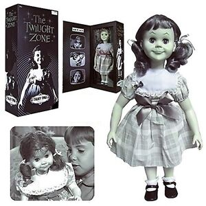 THE-TWILIGHT-ZONE-TALKING-TALKY-TINA-LIVING-DOLL-18-FIGURE-PROP-REPLICA-B-W-NEW