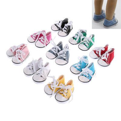 45cm bébé né chaussures de poupée pour les accessoires de fille américaine