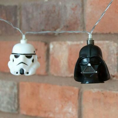 Star Wars Darth Vader Stormtrooper String Fairy Lights - Bedroom Accessories