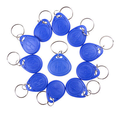 5PCS RFID 125KHz Writable Rewrite T5577 Keyfobs Proximity Access Tagsevs