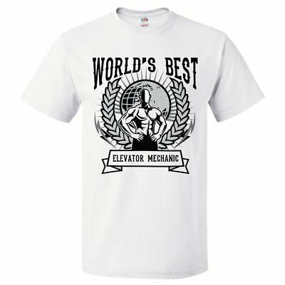 World's Best Elevator Mechanic T Shirt Gift for Elevator Mechanic