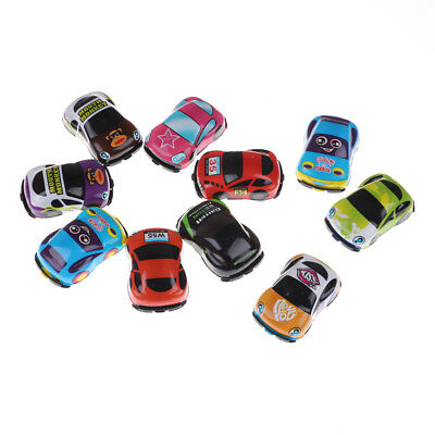 Plastic Cars For Toddlers (2pcs Baby Toys Cute Plastic Pull Back Cars Mini Car Model Funny Toys for Boys)