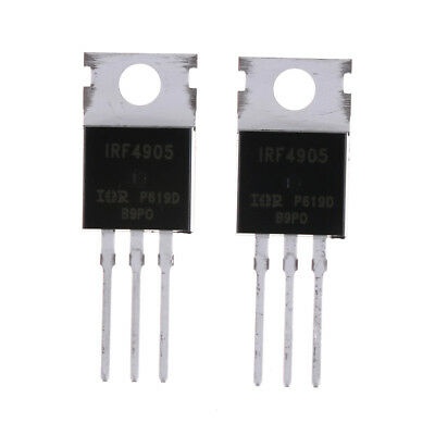 10pcs Irf4905 Irf4905pbf Power Mosfet 74a 55v P-channel Ir To Zp Nh2